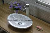 이탈리아 Carrara 백색 목욕탕 싱크대 수채