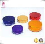 Cápsulas cosméticas con las líneas de plata Shinning dobles