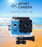 da câmera de controle remoto impermeável do esporte da câmera da ação de 4k WiFi mini came