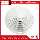 Ventilations-Luft-Luftauslass-Deckel-runder Decken-Aluminiumdiffuser (Zerstäuber)