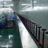 UV completa automática Planta pintura a pistola