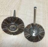 Escova abrasiva de lustro de madeira da broca da roda de China
