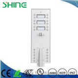 100 indicatori luminosi di via solari di watt LED con crepuscolo della cellula fotoelettrica da albeggiare illuminazione esterna con il sensore chiaro Dlc