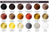 De Nevel van de Vezels van Thickeing van het haar met 18 Kleuren wereldwijd
