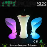 Mobilia dell'interno chiara luminosa del patio di illuminazione della presidenza della barra del LED