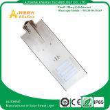 La vente en gros intègrent l'usine extérieure solaire d'éclairage LED de réverbère 60W