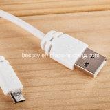 PVC Inslulated cable de carga micro del USB del anillo magnético de 1 contador