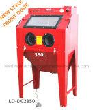 взрывное устройство песка перчаток инструмента воздуха шкафа Sandblast 420L 110gallon