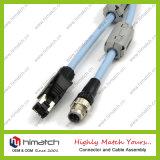 Robótico 12 Pin cable para las 12 cámaras CCD Pin