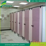 Placa Phenolic cor-de-rosa da divisória do toalete para a porta do compartimento