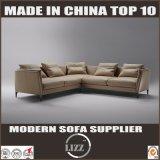 Muebles caseros L sofá de cuero sintetizado de la dimensión de una variable