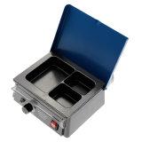 Machine dentaire portative à température contrôlée de chaufferette de cire de trois fentes