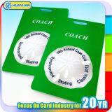Etiquetas de encargo del equipaje del PVC
