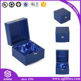 Ring-Halsketten-Armband-Ohrring-Papier-hölzerner Schmucksache-Kasten