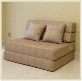 フリップ椅子のLoungerの変換可能なフォールドの眠る人のベッドのソファーの寮のゲストのソファ195*100cmの下で折りなさい