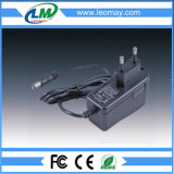 Adaptador fixado na parede 12W da potência de AC/DC5V/12V/24V com Ce RoHS