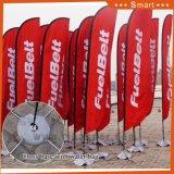 La traversa poco costosa basa la bandierina di spiaggia per la pubblicità esterna