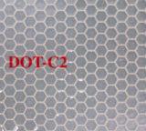 Лента C2 МНОГОТОЧИЯ стеклянной бусины Tid отражательная