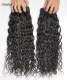 加工されていないFranchの波の毛の拡張105g (+2g) /Bundle自然なブラジルのバージンの毛のイタリアの波100%の人間の毛髪は等級8Aを編む