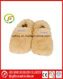 Calçador de pé mole de inverno macio com saco de trigo de lavanda