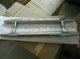 Maniglia di portello di vetro di disegno di tiri dell'acciaio inossidabile di figura di H