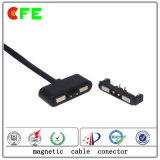 connecteur 2pin de remplissage magnétique avec le cable connecteur magnétique d'USB
