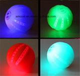 El animal doméstico del LED juega la bola