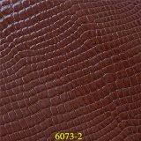 Cuir synthétique matériel d'unité centrale des graines de crocodile de mode pour des sacs à main du `S de Madame