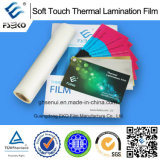 Sensation thermique de Film-Velours de Matt de laminage de contact doux