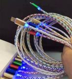 LED軽い純透過PVC 1メートル長いデータ同期信号ケーブル