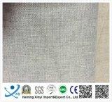 Tejido de lino caliente de la venta 100 poliester, tela retardante de fuego de la cortina