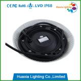 12W 12V DC 옥외 RGB IP68 직업적인 수중 소형 수영풀 LED 빛
