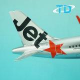 Jetstar A320neo Airplane Model Décoration de bureau