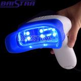 Dentes portáteis leves usados pessoais do diodo emissor de luz do azul forte que Whitening a lâmpada