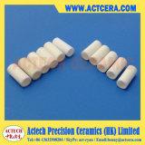 Tubo/boccola di ceramica personalizzati dell'isolamento dell'allumina di 96% Al2O3/99%