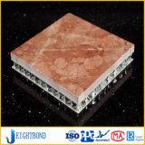 Painel de alumínio de pedra de mármore de pouco peso do favo de mel