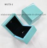 Rectángulo de joyería ligero de madera hermoso de la manera de la caja de embalaje LED de la joyería