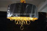 Luz pendiente plateada oro agraciado de la lámpara del hierro (ka9022)