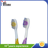 No desechables para adultos Cepillo de dientes con polietileno Masaje