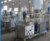 ステンレス鋼のセリウムの証明書のステンレス鋼のミルク冷却タンク価格(縦および水平)