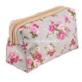 ピンクのばらが付いている耐久の高品質の構成の化粧箱袋