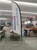 3.5m 5.5m Feature Flag Pole Publicidade Banner Flag