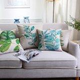 Niedriger Preis-Baumwollleinenbettthrow-Kissen für die Couch