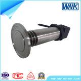 0.5%F. Transdutor de pressão nivelado sanitário de trabalho largo do diafragma da temperatura de S