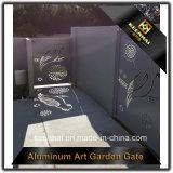 Конструкция строба парадного входа панели отрезока лазера алюминиевая для виллы