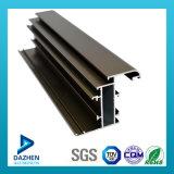 Profil en aluminium personnalisé d'extrusion de l'Ethiopie de qualité pour la porte de guichet
