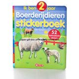 Libro de la etiqueta engomada para los niños
