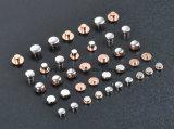 Mono manufatura do rebite do contato do metal