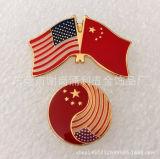 Emblème fait sur commande d'insigne de Pin en métal de Pin de revers d'indicateur de cadeau de promotion