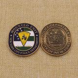La polizia su ordinazione di New York della città del metallo sfida la moneta da vendere